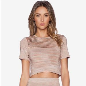 Torn by Ronny Kobo crop top